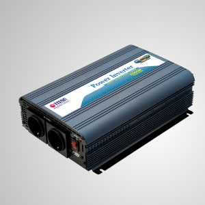 Inversor de corriente de onda sinusoidal modificada 1000W 12V / 24V DC a 230V AC con puerto USB Adaptador para automóvil - Inversor de energía de onda sinusoidal modificada TITAN de 1000 W con puerto USB