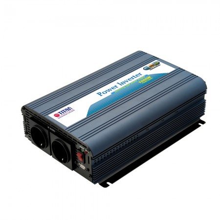 TITAN 1000W 12V/24V DC Modified Wave Power inverte with USB car adapter