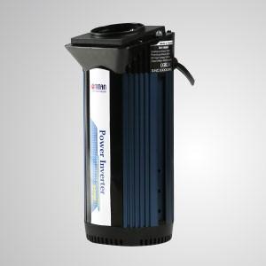 Inversor de energía de onda sinusoidal modificada de 140 W de 12 V CC a 230 V CA con enchufe para encendedor de cigarrillos y adaptador de puerto USB para automóvil