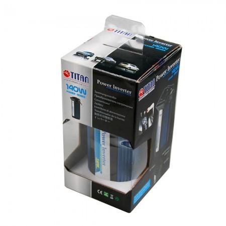 TITAN140W修正正弦波パワーインバーターパッケージ