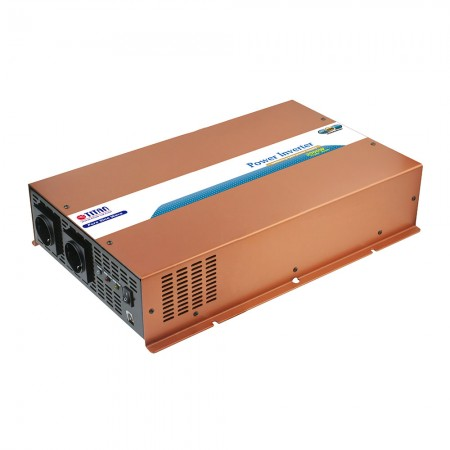 TITAN 2000W 12V/24VDC Pure Sine Wave Power inverter with instant AC transfer switch.