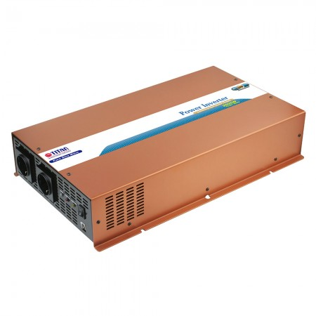 TITAN 2500W 12V/24VDC Pure Sine Wave Power inverter with instant AC transfer switch for campingsite, moterhome, yarhts, and other power supply needs.