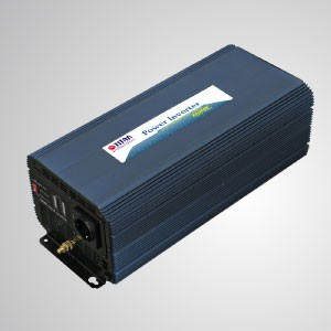 2500W Modified Sine Wave Power Inverter 12V/24V DC to 230V AC with Remote Control and USB Port - TITAN 2500W Modified Sine Wave Power Inverter with USB port