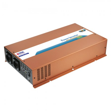 Inversor de energía de onda sinusoidal pura TITAN 3000W 12VDC con modo de reposo.