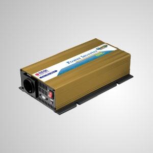 Inversor de corriente de onda sinusoidal pura de 300 W 12 V / 24 V CC a 230 V CA con puerto USB Adaptador para automóvil