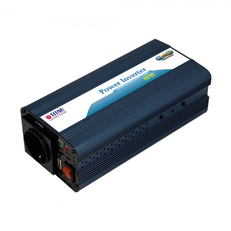 TITAN 300W 12V DC Modified Wave Power inverte with USB car adapter
