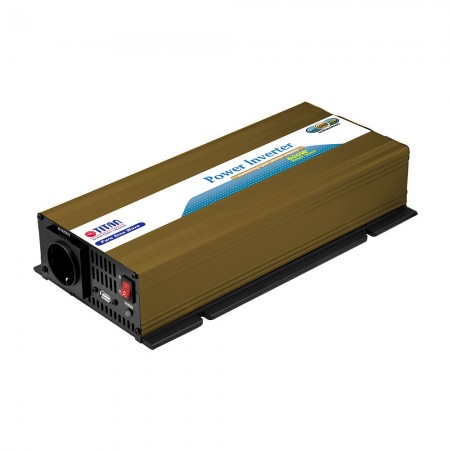 TITAN 600W 12V/24V DC Pure Sine Wave Power inverter with USB port