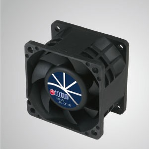 12V DC Yüksek Statik Basınçlı Soğutma Fanı / 60mm - TITAN yüksek statik basınçlı fanın 3 özelliği vardır: Yüksek statik basınç, yüksek hava akışı, uzun izin uzunluğu.