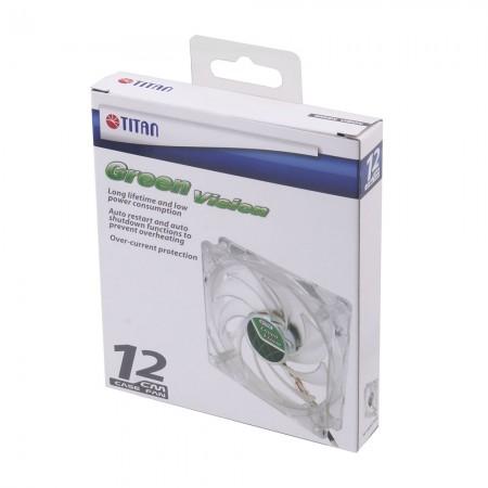 TITAN Transparent Green Lüfterpaket