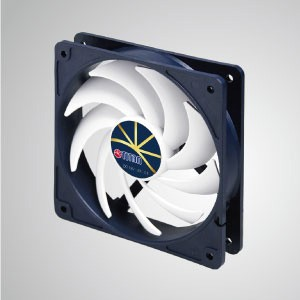 12V DC 0.32A Cooling Fan with Extreme Silent Low Speed Control / 120mm x 20mm x 25mm