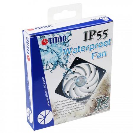 TITAN Wasserdichtes/staubdichtes Kühllüfterpaket.