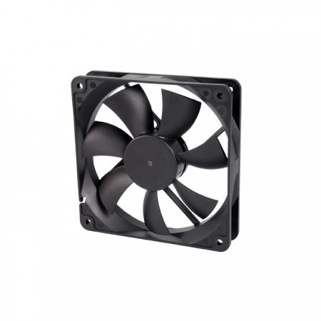 It is a Cooling fan with 12V DC and 120mm x 120mm x 25mm fan. Provide versatile speed model to fit user's need.