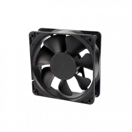 It is a Cooling fan with 12V DC and 120mm x 120mm x 38mm fan. Provide versatile speed models to fit user's need.