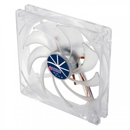 Con marco transparente y ventilador silencioso de 140 mm, crea un rendimiento de enfriamiento brillante pero de bajo perfil.
