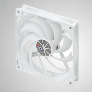 12 V DC 140 mm Kukri Silent Cooling Cloud Fan mit 9 Flügeln und 1/4-Zoll-Schraubenlöchern für die DIY-Montage - TITAN Cooling Cloud Fan mit umfangreicher Anwendung mit allen Arten von Haltern