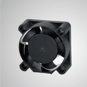 Ventilador de refrigeración de CC con series de 25 mm x 25 mm x 10 mm - TITAN- Ventilador de enfriamiento de CC con ventilador de 25 mm x 25 mm x 10 mm, proporciona tipos versátiles para las necesidades del usuario.