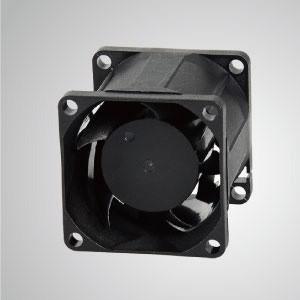 Ventilador de refrigeración de CC con series de 38 mm x 38 mm x 38 mm - TITAN- Ventilador de enfriamiento de CC con ventilador de 38 mm x 38 mm x 38 mm, proporciona tipos versátiles para las necesidades del usuario.