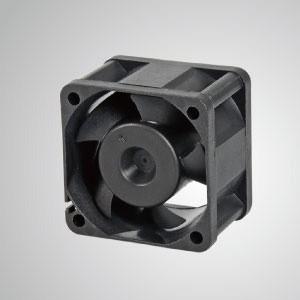 Ventilador de refrigeración de CC con series de 40 mm x 40 mm x 28 mm - TITAN- Ventilador de enfriamiento de CC con ventilador de 40 mm x 40 mm x 28 mm, proporciona tipos versátiles para las necesidades del usuario.