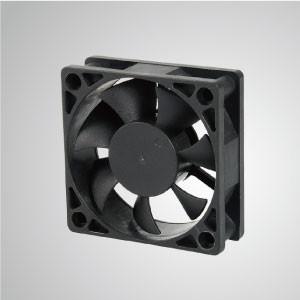 60mm x 60mm x20mmシリーズのDC冷却ファン