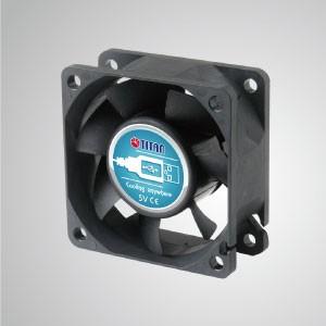 5V DC60mmポータブルUSBテーブルデスクトップ冷却ファン - 60mmのポータブル冷却ファンで、USBインターフェースを備えたあらゆるデバイスに貼り付けることができます。