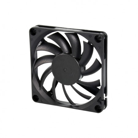 It is a Cooling DC fan with and 70mm x 70mm x 10mm fan. Provide versatile models to fit user's need.