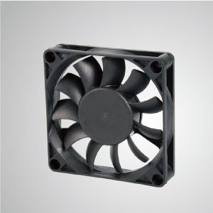 DC Cooling Fan with 70mm x 70mm x 15mm Series - TITAN- DC Cooling Fan with 70mm x 70mm x 15mm fan, provides versatile types for user's need.