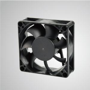 Ventilador de refrigeración de CC con serie de 70 mm x 70 mm x 25 mm - TITAN- Ventilador de enfriamiento de CC con ventilador de 70 mm x 70 mm x 25 mm, proporciona tipos versátiles para las necesidades del usuario.