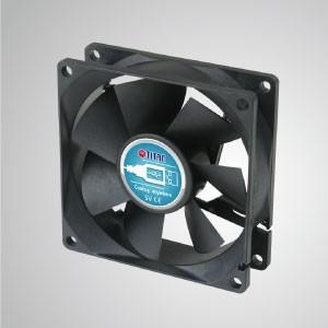 5V DC80mmポータブルUSBテーブルデスクトップ冷却ファン - 80mmのポータブル冷却ファンで、USBインターフェースを備えたあらゆるデバイスに貼り付けることができます。