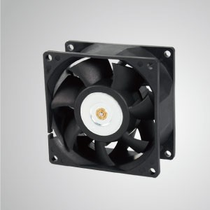 DC Cooling Fan with 80mm x 80mm x 38mm Series - TITAN- DC Cooling Fan with 80mm x 80mm x 38mm fan, provides versatile types for user's need.