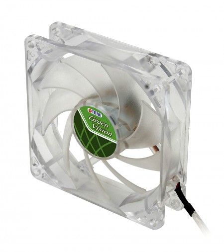 With transparent green frame and 92mm silent fan, creating a eco-friendly and low profile cooling performance