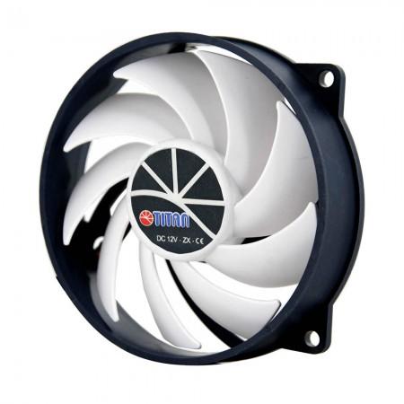 Kukri-förmige Klingen erzeugen einen außergewöhnlich hohen Luftstrom, um eine hervorragende Kühlleistung zu erzielen.