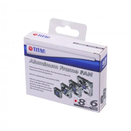 Paquete de ventilador de enfriamiento con marco de aluminio TITAN.