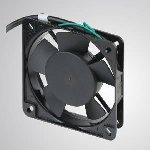 Ventilateur de refroidissement AC avec série 110 mm x 110 mm x 25 mm - Le ventilateur de refroidissement TITAN-AC avec ventilateur de 110 mm x 110 mm x 25 mm, fournit des types polyvalents pour les besoins de l'utilisateur.