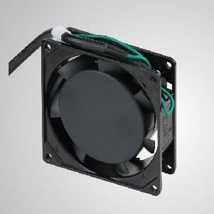 Ventilador de refrigeración de CA con serie de 80 mm x 80 mm x 25 mm - TITAN- Ventilador de enfriamiento de CA con ventilador de 80 mm x 80 mm x 25 mm, proporciona tipos versátiles para las necesidades del usuario.