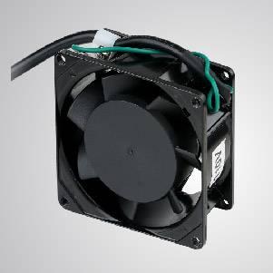 Ventilador de refrigeración de CA con serie de 80 mm x 80 mm x 38 mm - TITAN- Ventilador de enfriamiento de CA con ventilador de 80 mm x 80 mm x 38 mm, proporciona tipos versátiles para las necesidades del usuario.