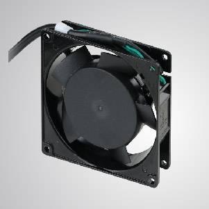 Ventilador de refrigeración de CA con serie de 92 mm x 92 mm x 25 mm - TITAN- Ventilador de enfriamiento de CA con ventilador de 92 mm x 92 mm x 25 mm, proporciona tipos versátiles para las necesidades del usuario.
