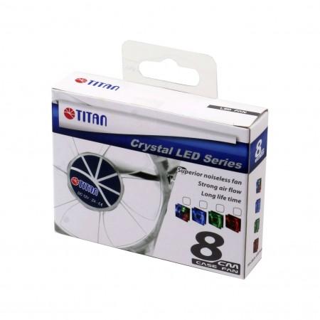 Paquete de ventilador de enfriamiento TITAN LED