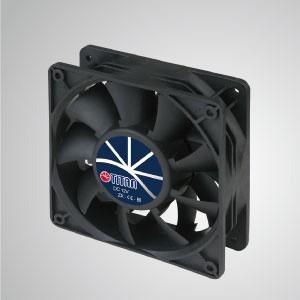 Ventilador de enfriamiento de alta presión estática de 12 V CC / 120 mm - El ventilador de alta presión estática TITAN tiene 3 características: alta presión estática, alto flujo de aire, larga duración.