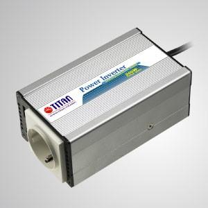 Inversor de energía de onda sinusoidal modificada de 200 W 12 V / 24 V CC automático a 240 V CA con enchufe para encendedor de cigarrillos y adaptador de puerto USB para automóvil