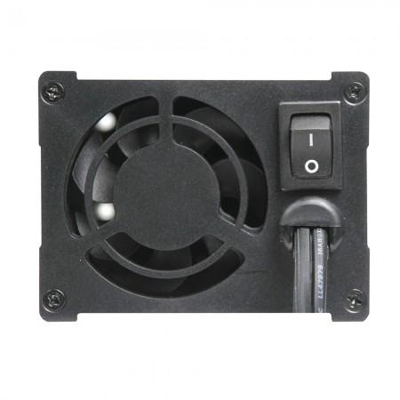 LED indicator & built-in mini cooling fan