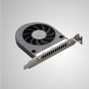 Ventilador de enfriamiento del ventilador del sistema de 12 V CC: 86 mm x 75 mm x 10 mm - TITAN- Ventilador de enfriamiento del sistema de CC con ventilador de 86 x 75 x 10 mm, prolonga la vida útil y la confiabilidad del sistema informático.
