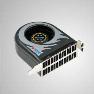 Ventilador de enfriamiento del ventilador del sistema de 12 V CC (ventilador de doble tamaño) - 111 mm x 91 mm x 38 mm - TITAN- Ventilador de enfriamiento del sistema de CC con ventilador de 111 x 91 x 38 mm (ventilador de doble tamaño), extiende la vida útil y la confiabilidad del sistema informático.
