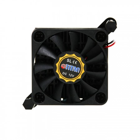Equipped with 12V DC fan.