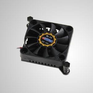 12V DC Chipsatz Kühler Kühlkörper - TTC-CSC03 mit Push-Pin-Clip-Design ermöglicht eine effektive Wärmeableitung von der CPU.