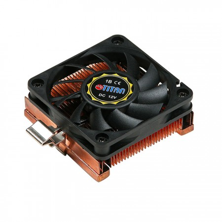 CPU air cooler with 60x 60 x 10mm square frame fan and copper soldering cooling fins
