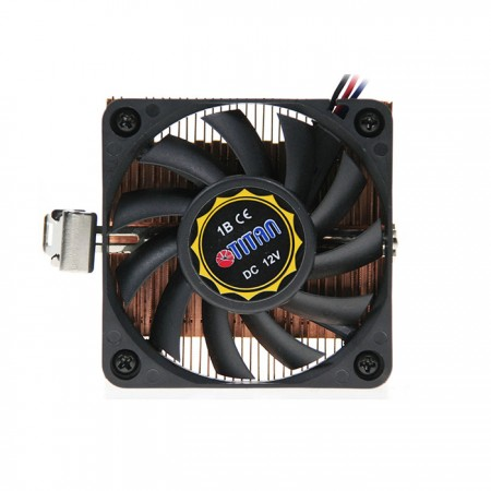 Equipped with TITAN 9-blades cooling fan to provide silent operation.