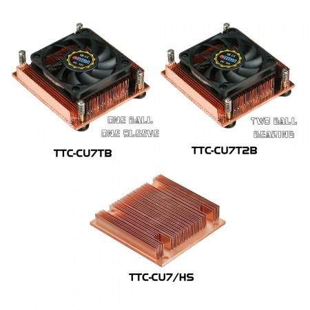 Abbildung des CPU-Kühlers der TTC-CU7-Serie