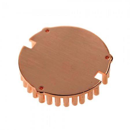 Pure copper design enhances heat conductivity and perfect the cooling performance