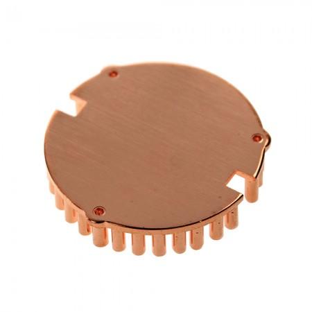 La conception en cuivre pur améliore la conductivité thermique et perfectionne les performances de refroidissement