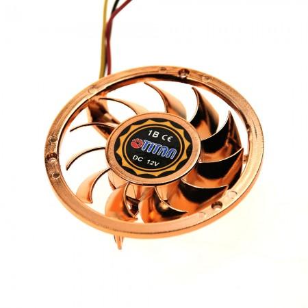 Pure copper cooling fan design